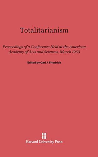 9780674282070: Totalitarianism