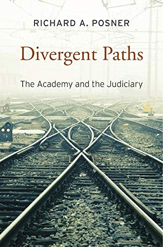 9780674286030: Divergent Paths: The Academy and the Judiciary
