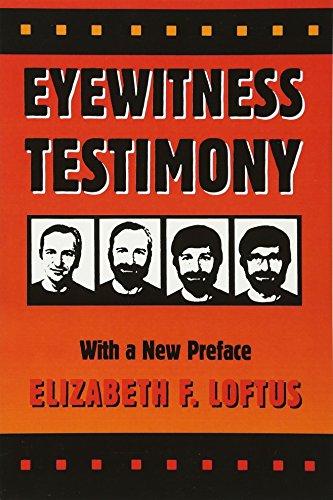 9780674287778: Eyewitness Testimony: With a New Preface