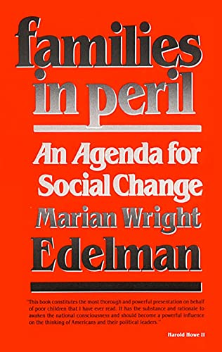 9780674292291: Families in Peril: An Agenda for Social Change (The W. E. B. Du Bois Lectures)