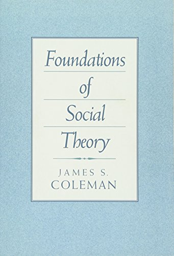 9780674312265: Foundations of Social Theory