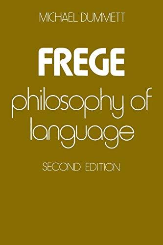 9780674319318: Frege: Philosophy of Language