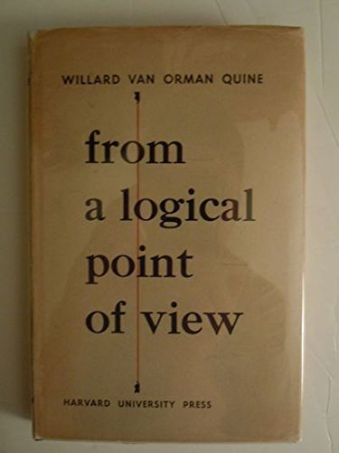 9780674323506: From a Logical Point of View: Nine Logico-Philosophical Essays, Second Revised Edition