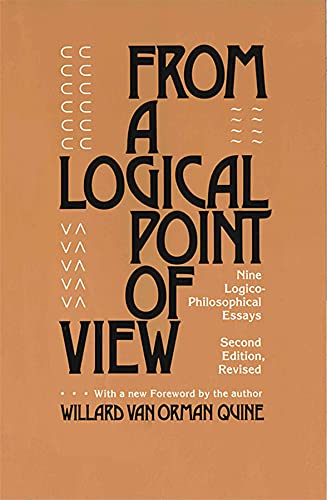 9780674323513: From a Logical Point of View: Nine Logico-Philosophical Essays, Second Revised Edition