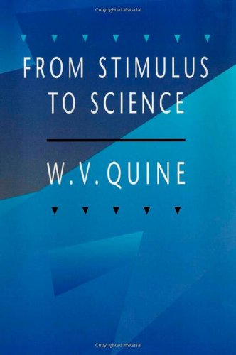 9780674326354: From Stimulus to Science