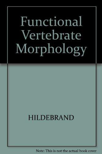 9780674327757: Functional Vertebrate Morphology (Belknap Press)
