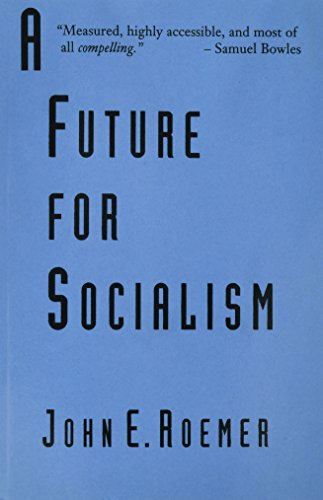 9780674339460: A Future for Socialism