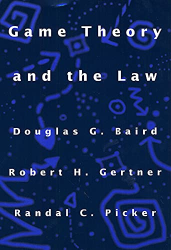 9780674341111: Game Theory and the Law