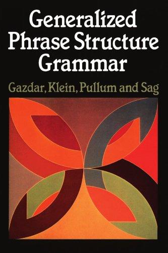 9780674344563: Generalized Phrase Structure Grammar