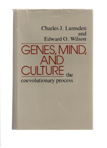 9780674344754: Genes, Mind, and Culture: The Coevolutionary Process