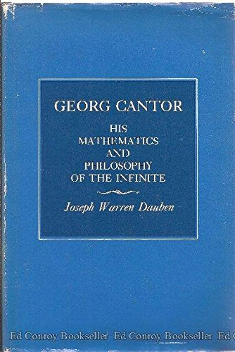 9780674348714: Georg Cantor: His Mathematics and Philosophy of the Infinite