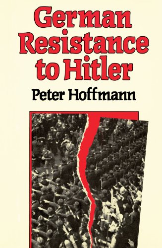 9780674350861: German Resistance to Hitler