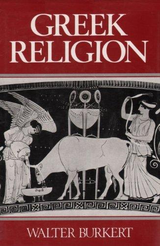 Greek Religion: Burkert, Walter