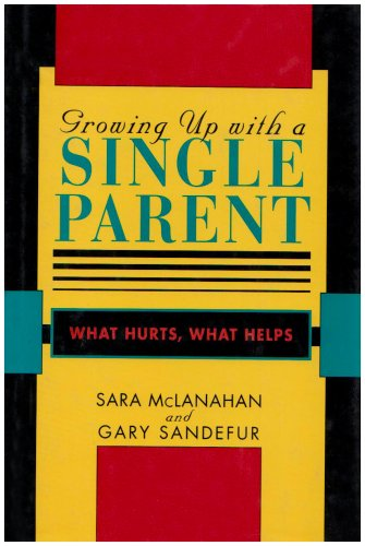 9780674364073: Growing Up With a Single Parent: What Hurts, What Helps
