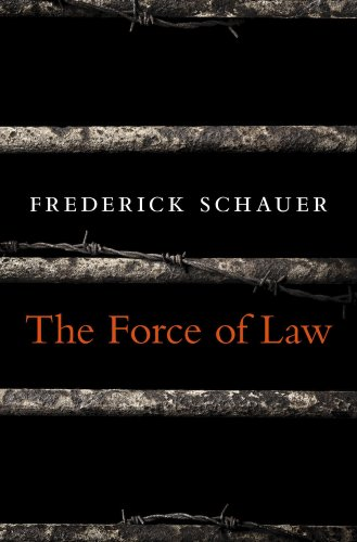 9780674368217: The Force of Law