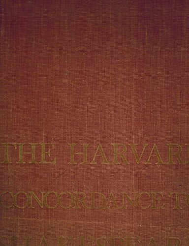The Harvard Concordance to Shakespeare: Marvin Spevack