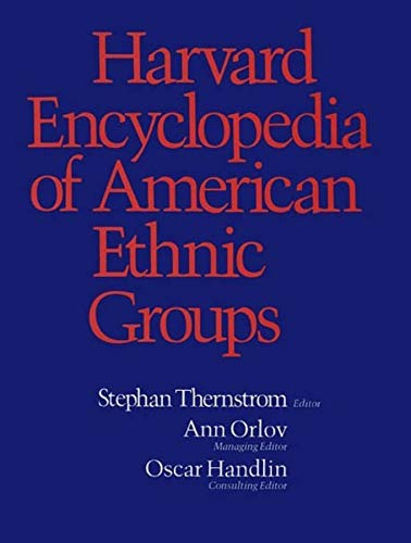 9780674375123: Harvard Encyclopedia of American Ethnic Groups