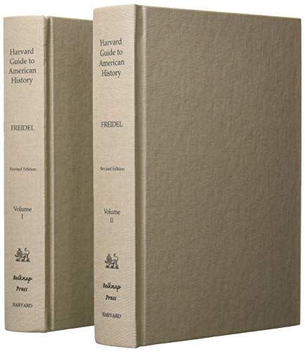 9780674375604: Harvard Guide to American History, Volumes I and II: Revised Edition