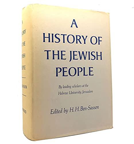 9780674397309: Ben-Sasson: History Jewish People