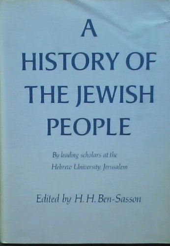 9780674397309: A History of the Jewish People