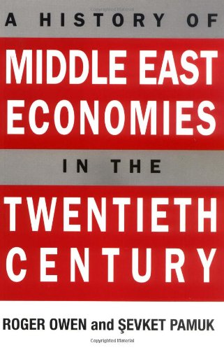 9780674398313: A History of Middle East Economies in the Twentieth Century