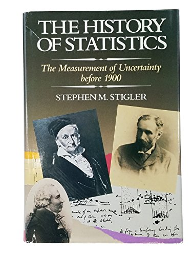 9780674403406: The History of Statistics: The Measurements of Uncertainity Before 1900