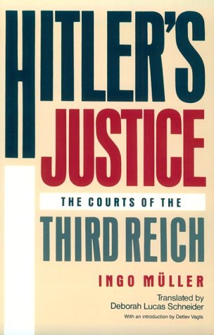 9780674404199: Hitler's Justice: The Courts of the Third Reich