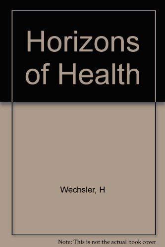 9780674406315: The Horizons of Health
