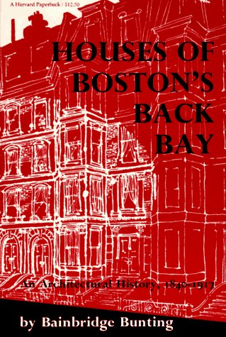 9780674409019: Houses of Boston's Back Bay
