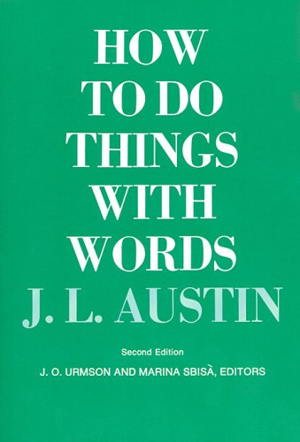 9780674411500: How to Do Things with Words: Second Edition