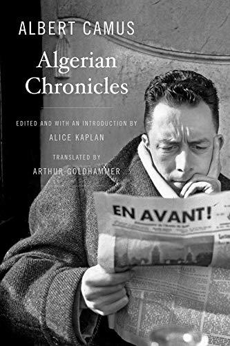 9780674416758: Algerian Chronicles