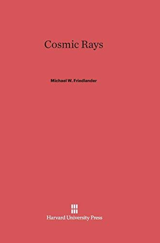 9780674418202: Cosmic Rays
