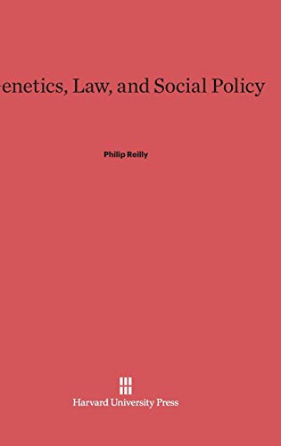 9780674420199: Genetics, Law, and Social Policy
