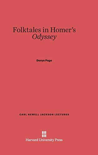 9780674423428: Folktales in Homer's Odyssey