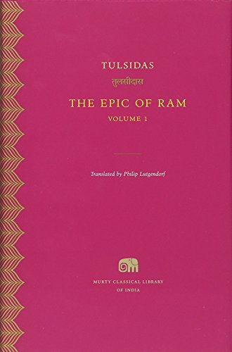 9780674425019: The Epic of RAM, Volume 1 (Murty Classical Library of India)
