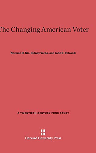 9780674429130: The Changing American Voter: Enlarged Edition (Twentieth Century Fund Books/Reports/Studies)