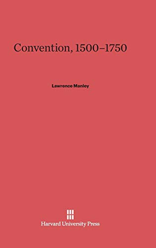 9780674431386: Convention, 1500-1750