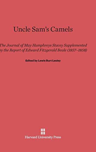 Uncle Samandapos;s Camels: Lesley, Lewis Burt