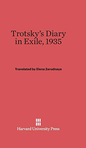 9780674434059: Trotsky's Diary in Exile, 1935