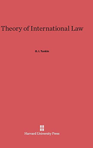 9780674434158: Theory of International Law