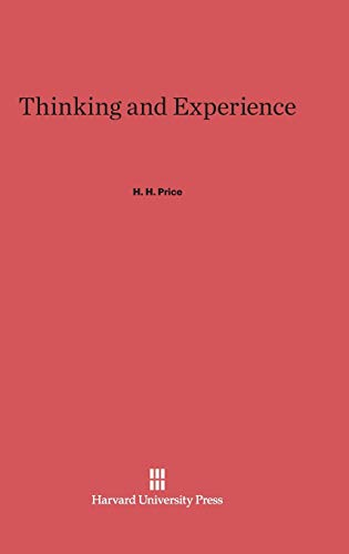 9780674434998: Thinking and Experience