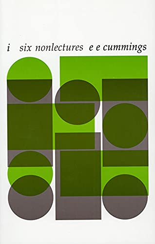 9780674440104: i: six nonlectures (The Charles Eliot Norton Lectures)