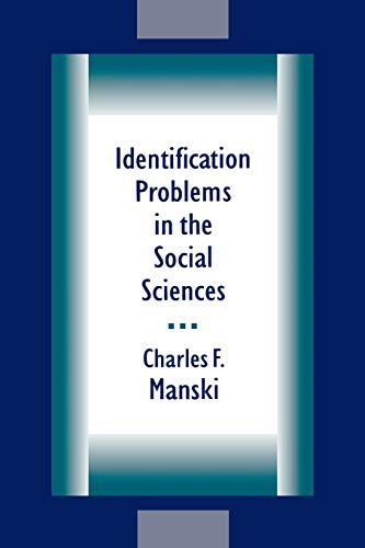 9780674442849: Identification Problems in the Social Sciences
