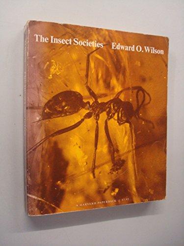 9780674454958: The Insect Societies (Harvard paperbacks)