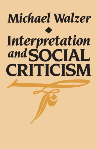 9780674459717: Interpretation and Social Criticism (The Tanner Lectures on Human Values)