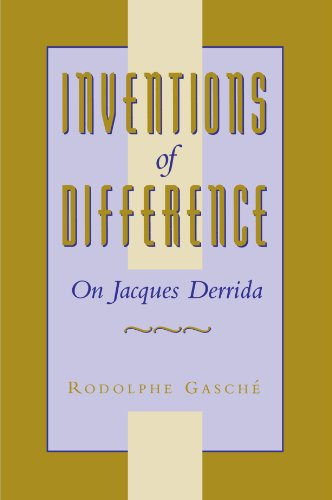 9780674464438: Inventions of Difference: On Jacques Derrida