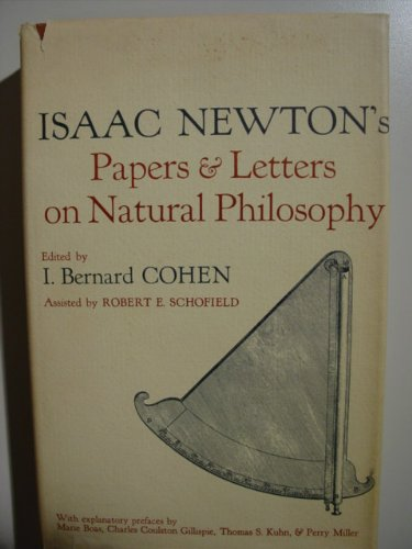 Isaac Newton's Papers & Letters on Natural: NEWTON, Isaac: