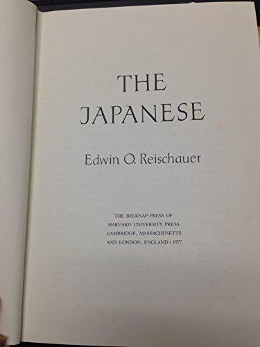 JAPANESE: REISCHAUER EDWIN