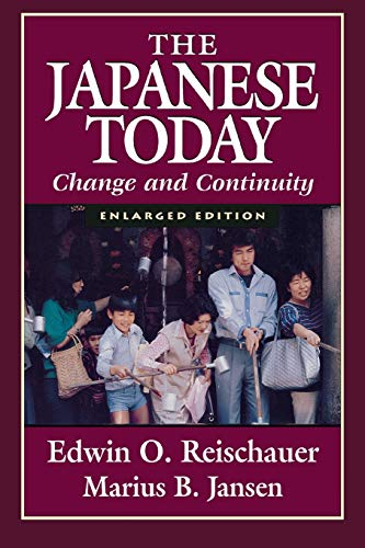 9780674471849: Japanese Today: Change and Continuity, Enlarged Edition