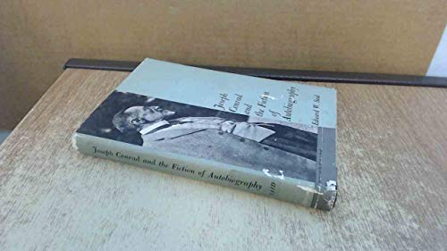 9780674483507: Joseph Conrad and the Fiction of Autobiography